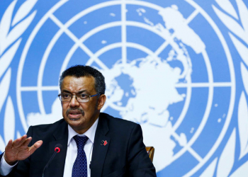 Newly elected Director-General of the World Health Organization (WHO) Tedros Adhanom Ghebreyesus attends a news conference at the United Nations in Geneva, Switzerland, May 24, 2017.  REUTERS/Denis Balibouse - RTX37CKB